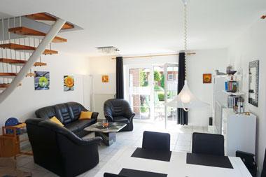 nordseek ste nessmersiel ferienhaus l ttje seestern. Black Bedroom Furniture Sets. Home Design Ideas